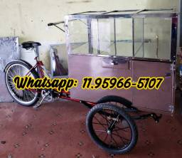 Triciclo de pipoca