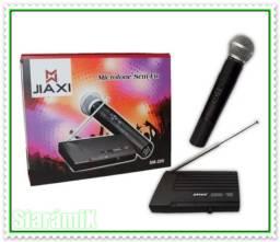 Microfone Profissional Sem Fio Potente e com Ótima Qualidade. NOVO