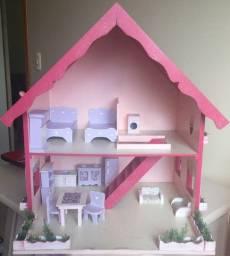 Casa de boneca + acessórios