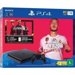 PS4 Slim 1tb Edição FIFA 20 + 1 Controle