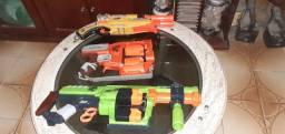 Kit 3 Nerf Doominator Zombie Strike Flipfury e Barrel Break ix 2