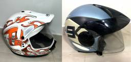 (Compre 1 e Leve 2) Capacete Cross Fly O2 Intensity