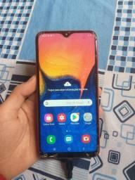 Samsung a10  trincado