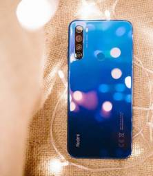 "Smartphone Redmi Note 8 64Gb 4GB Ram Tela 6.3""- Versão Global+Brinde"