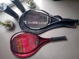 Raquetes de Tênis Wilson + conjunto de bolas Wilson