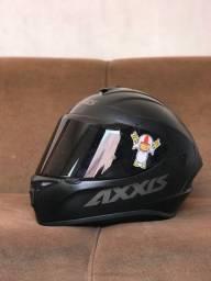 Capacete Axxis Draken Solid Preto