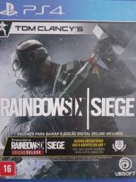 Rainbow six siege ps4 em perfeito estado