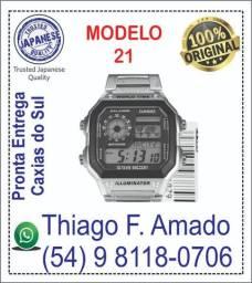 Relógio Casio modelo AE1200WHD-1AV - Mod. 21 - 100% Original ? 100% Novo