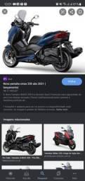 Título do anúncio: YAMAHA XMAX ABS 250 AZUL 2021
