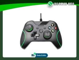 Título do anúncio: Controle Com Fio Xbox One Preto