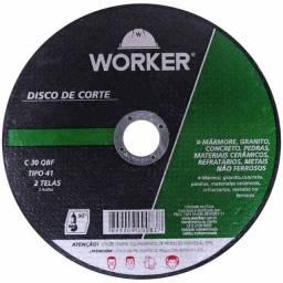 """Título do anúncio: Disco de Corte em Marmore  4.1/2""""X1/8"""" x 22,2mm Worker"""