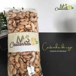 Título do anúncio: Castanhas de caju selecionadas, com o melhor preço da região. Enviamos para todo Brasil.
