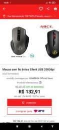 Título do anúncio: mouse gamer 2000dpi sem fio