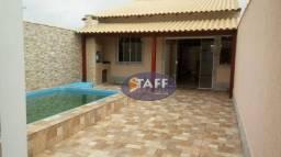 Título do anúncio: Linda casa 2 quartos sendo 1 suite com piscina e area gourmet lado praia em Unamar-Cabo Fr