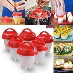 Forma De Silicone Para Cozinhar Ovos Pratico 6 unidades Magic Egg