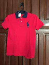 Camisa infantil Polo Ralph Lauren - tam. 7 anos