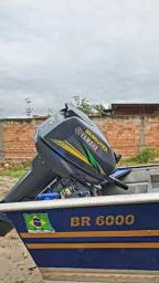 BARCO FLUVIMAR BR 600 E MOTOR YAMAHA 15HP 2020