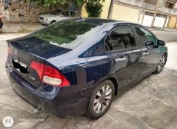 New Civic LXS 1.8 azul 2007 GNV