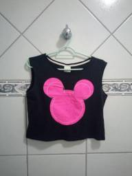 Cropped Mickey tam. 16