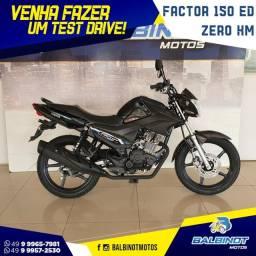 Título do anúncio: Factor 150 Zero Km Preta