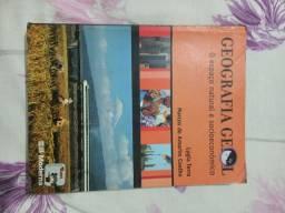 Livro usado Geografia geral o espaço natural e socioeconômico