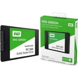 Ssd Wd Green 2.5'' 240gb
