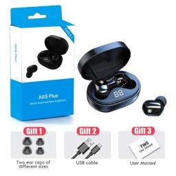 Phones De Ouvidos As6 Plus Airdots Bluetooth