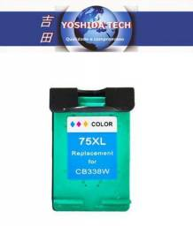 Cartucho compatível HP 75XL colorida