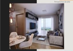 Bonsucesso, apartamento 2 Qrts(1 suíte) com varanda, entrada toda parcelada ate 60X