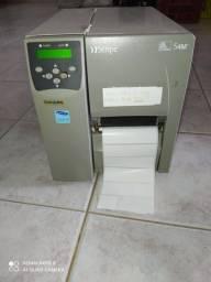 Impressora térmica código de barras zebra S4M
