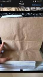 Título do anúncio: Vendo embalagem para delivery + saco kraft