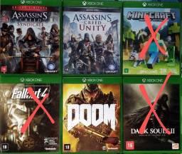 Título do anúncio: Jogos Xbox One