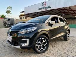 Zeeradoo SUV Captur 1.6 Automático Intense Teto Marfim 9 mil km Garantia Renault 2019