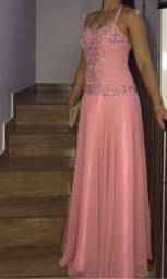 Vestido Rosa Festa
