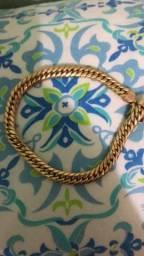 Vendo pulseira em ouro 18k