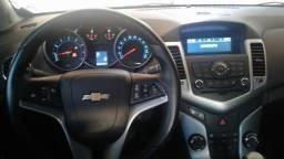 Gm - Chevrolet Cruze LT 1.8 - 2012 Km 92000 troco por Hyundai Santa Fe 3.5 - 2012
