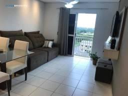 Apartamento no Edifício Florada dos Aricás com 02 dormitórios