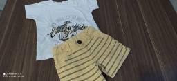 Lote de roupa tamanho 1