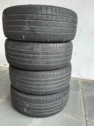 Vendo 4 pneus goodyear /55 r 16 91v por 150,00