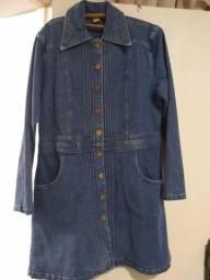 Vestido Jeans Mística Tamanho 46