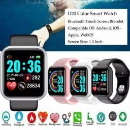 Relógio Inteligente D20 esporte para Atividades fisicas