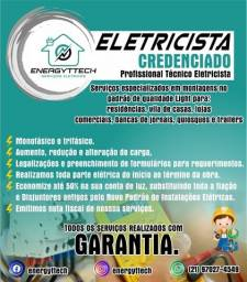 Eletricista Profissional, Residencial ,Predial no Padrão Light Credenciado