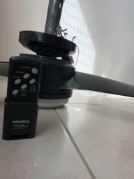 Ventilador e Exaustor de Teto com Controle Remoto 220V