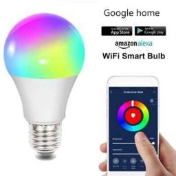 Lâmpada Wifi Yeelight RGB. Alexa, Google Home. Pronta Entrega!