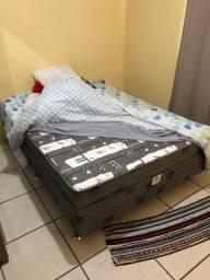 Vendo cama casal conjugada