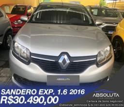Renault Sandero 1.6 Authentique 2016