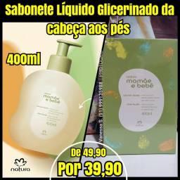 Sabonete líquido glicerinado 400ml