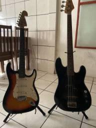 Guitarra e Baixo Seminovos
