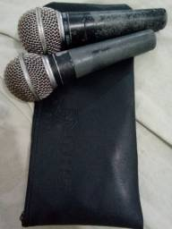 Microfones Shure SM 58 original