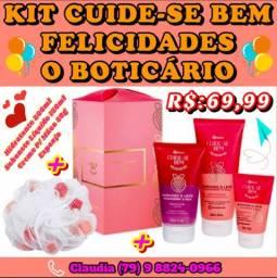 Coleção kits de Natal o Boticário em PRONTA ENTREGA. VALORES JÁ NAS FOTOS OK.